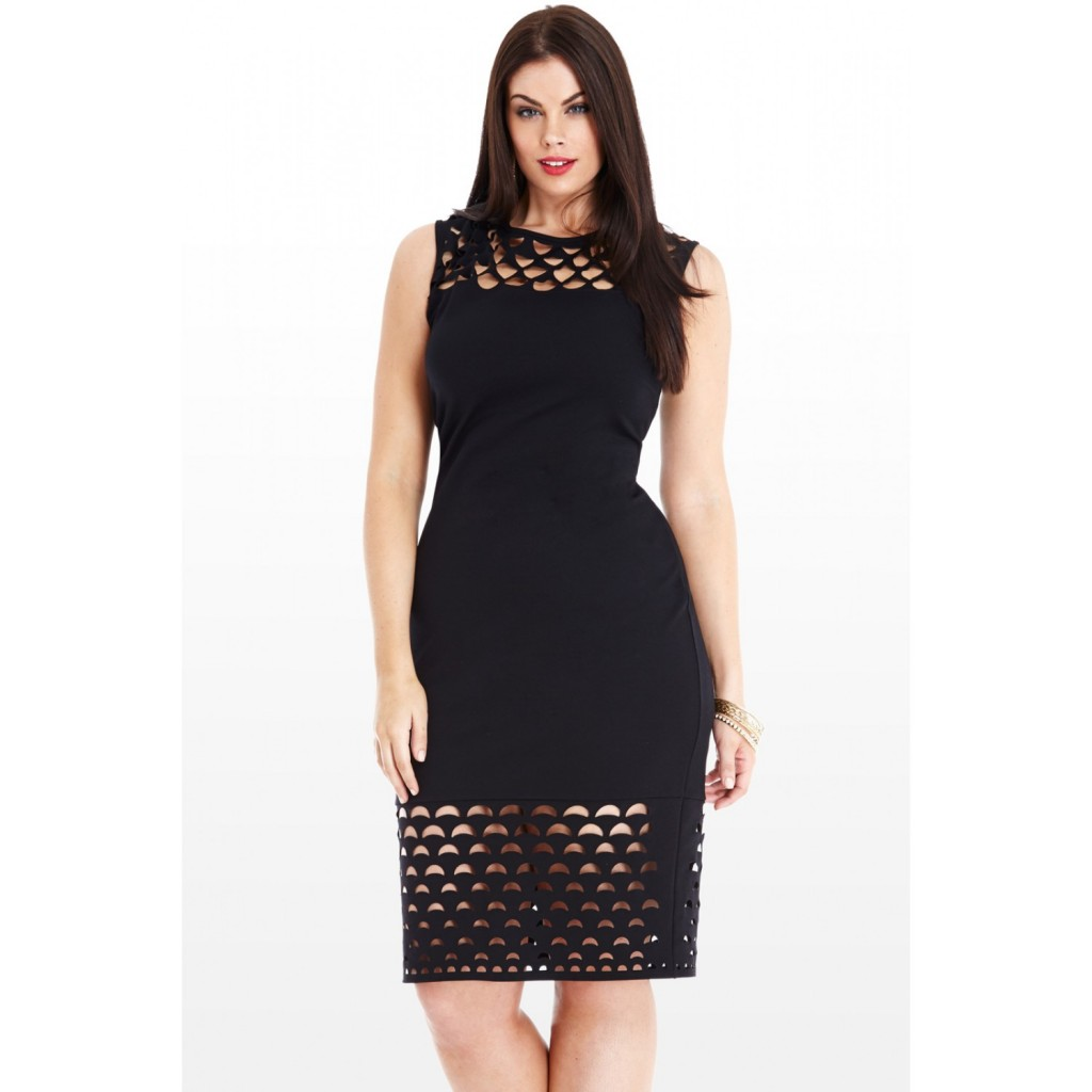 FTF Laser Cut Dress