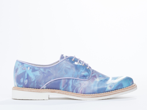 Miista oxfords in the coolest prints and textiles