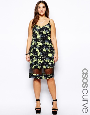 ASOS Palm Cami Dress