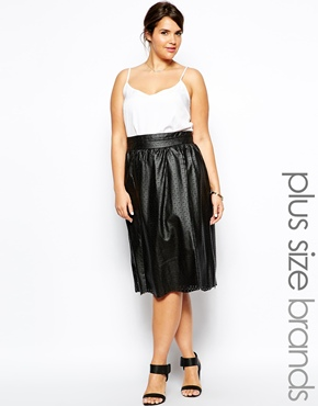 AX Paris Perf Skirt