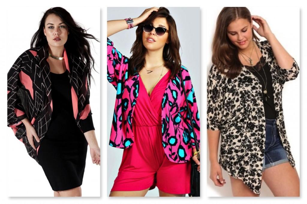 Plus Size Kimonos Graphic