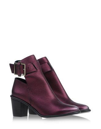 Miista Purple Ankle Boots