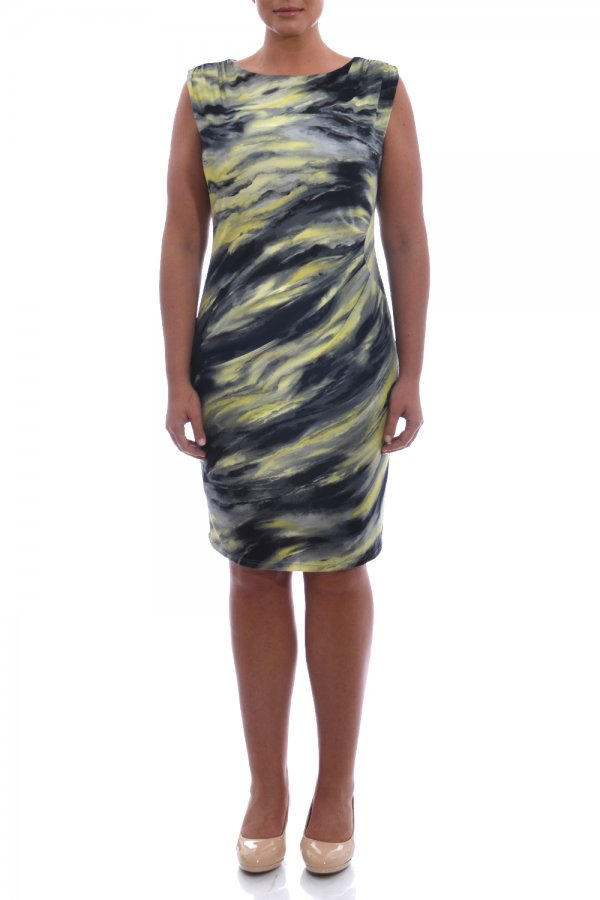 Elvi Print Sheath