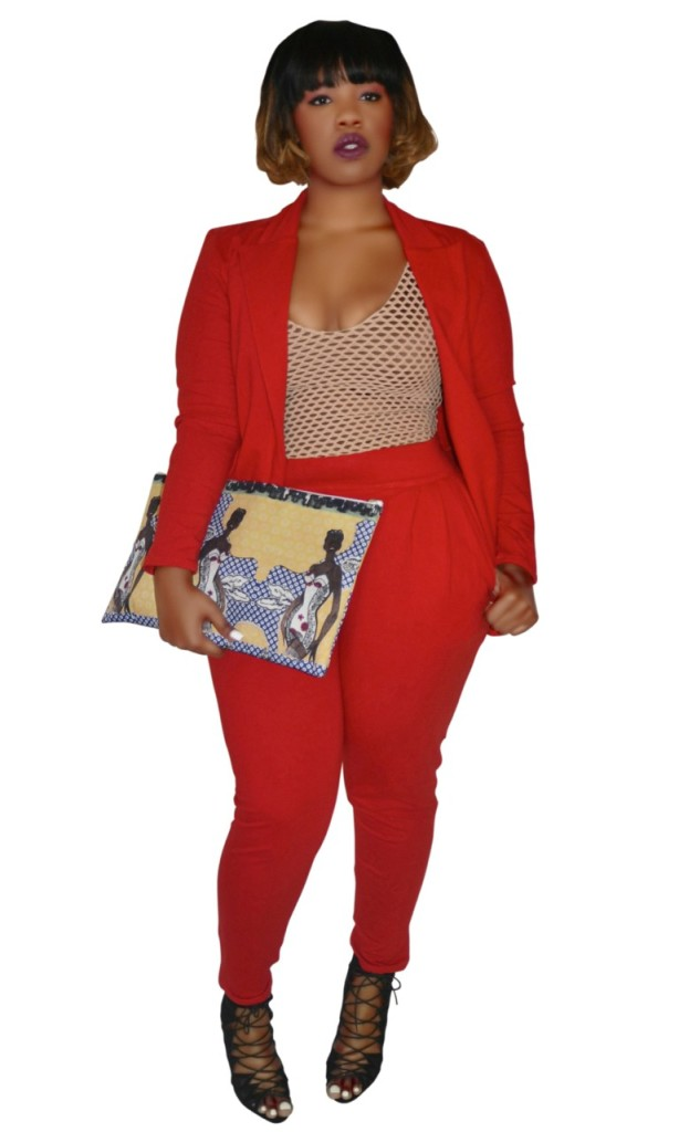 Rue 107 Red Suit