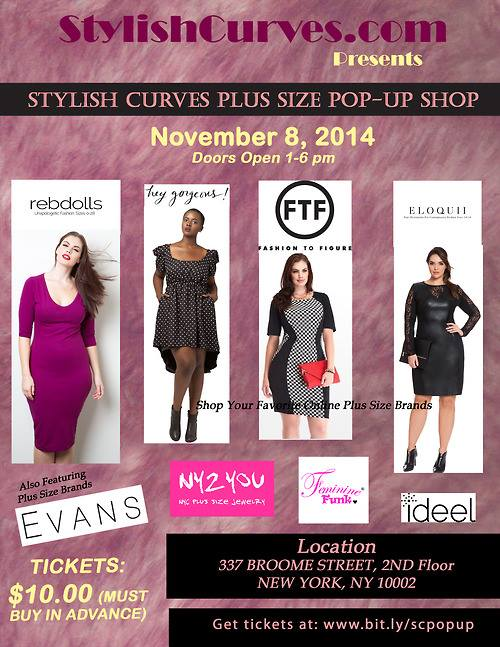 Stylish Curves Pop Up