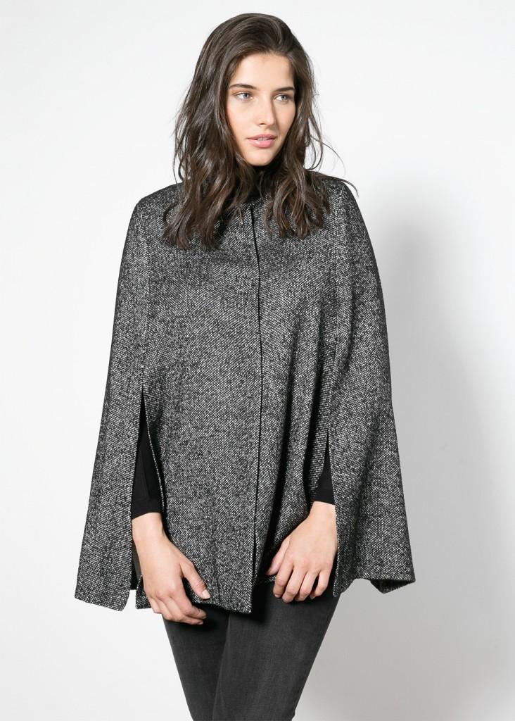 Violeta Cashmere Wool Blend Cape