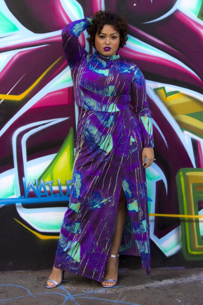 Zelie for She Graffiti Dress