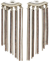 Jean Paul Gaultier Chain Clip Ons