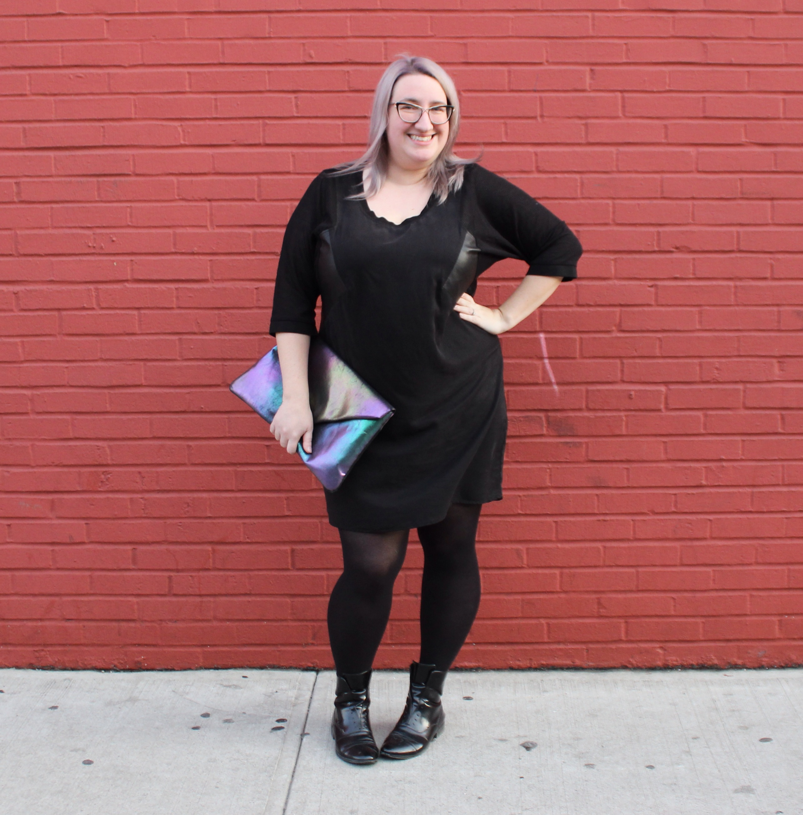 OOTD: A Sack Dress With Shape