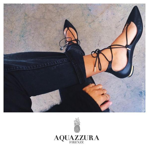 Aquazzura Styled