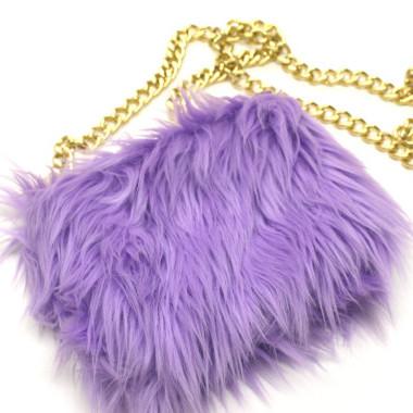 Wardrobe Want: Technicolor Fur Bag