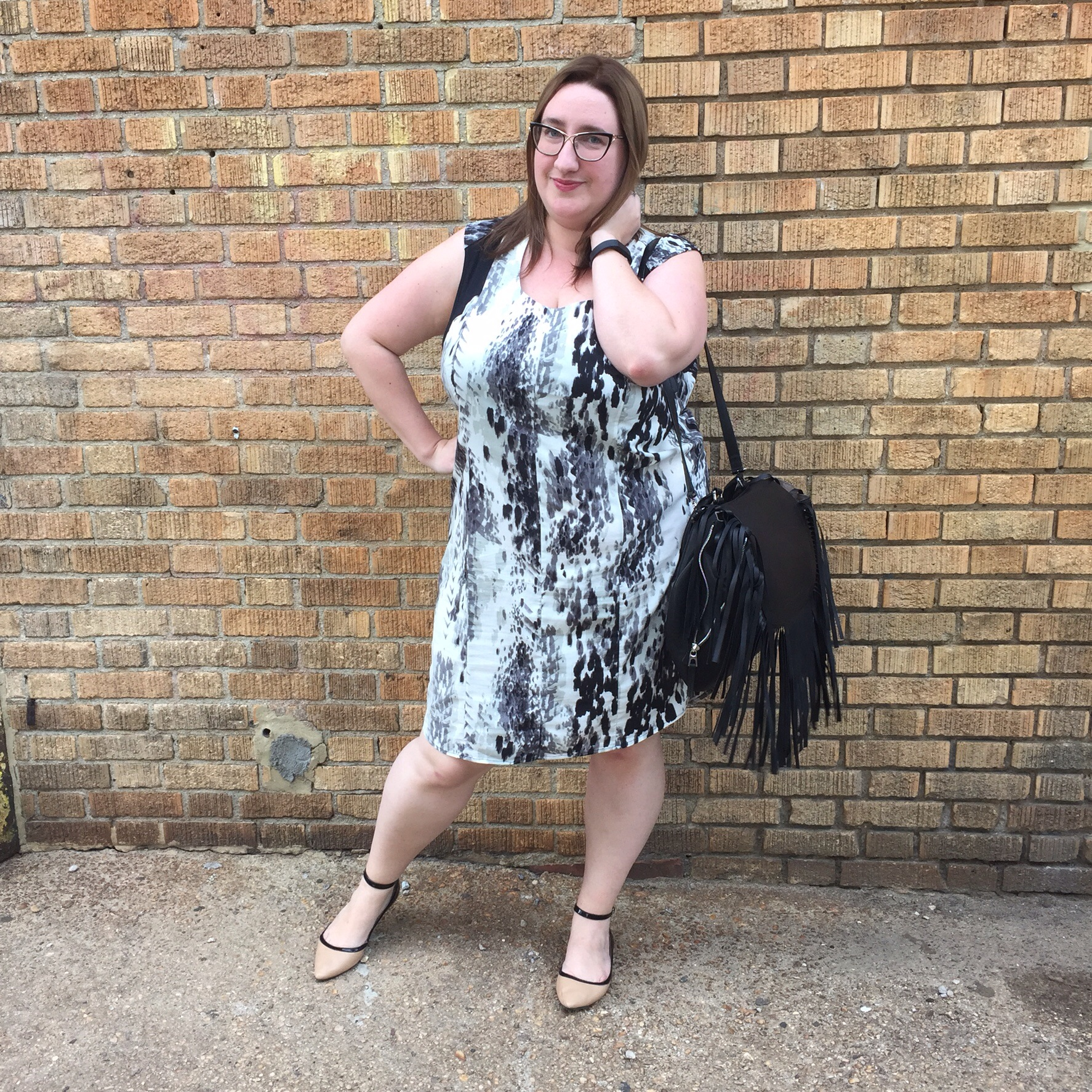 OOTD: The Printed Shift