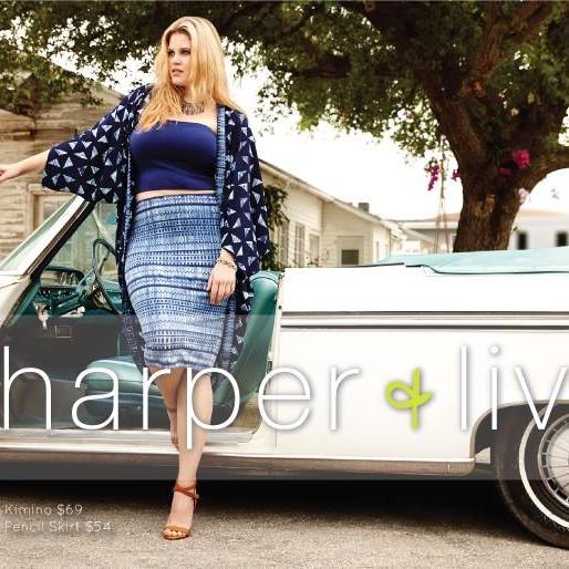 New Plus Label: Harper & Liv