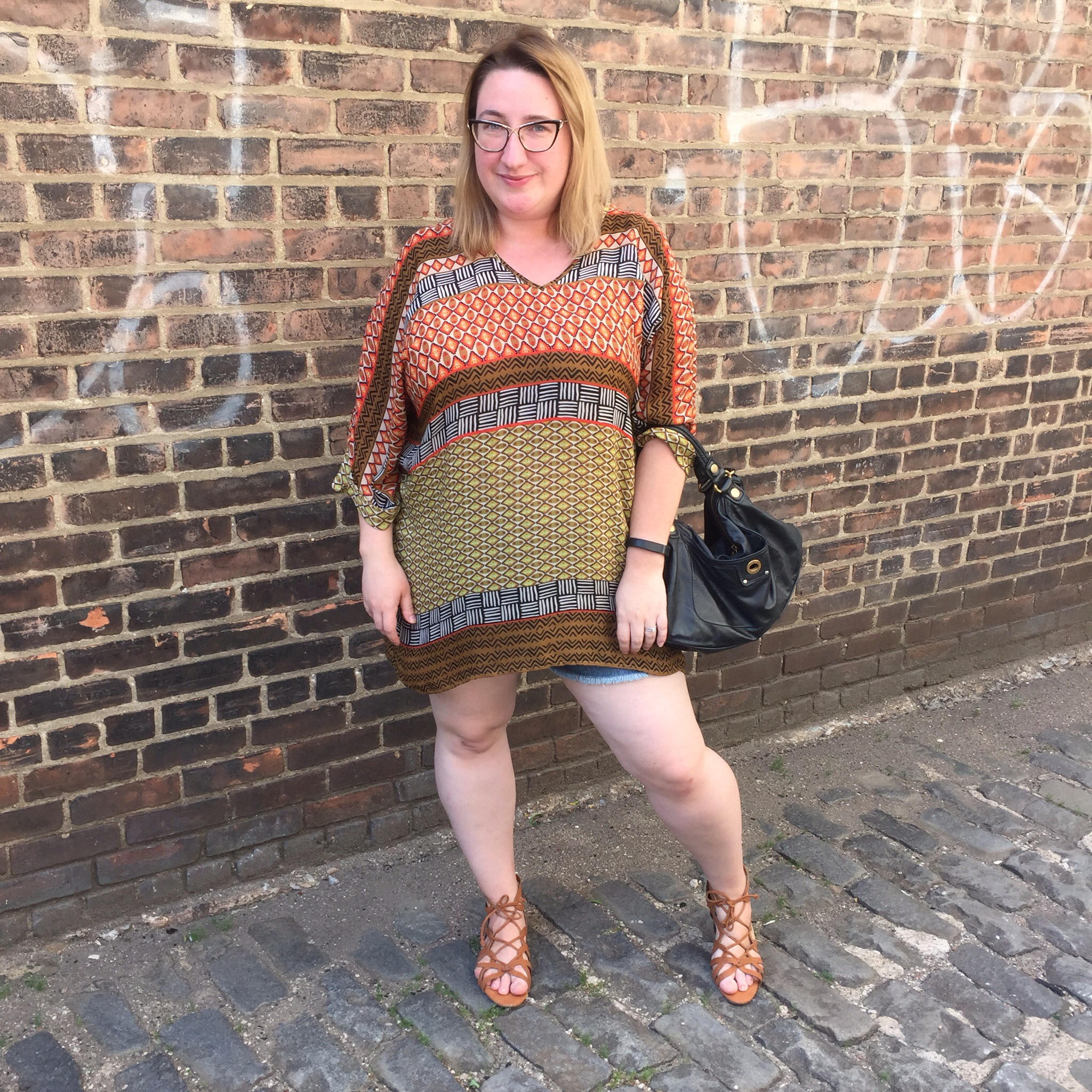 OOTD: Hot Weather and Warm Tones