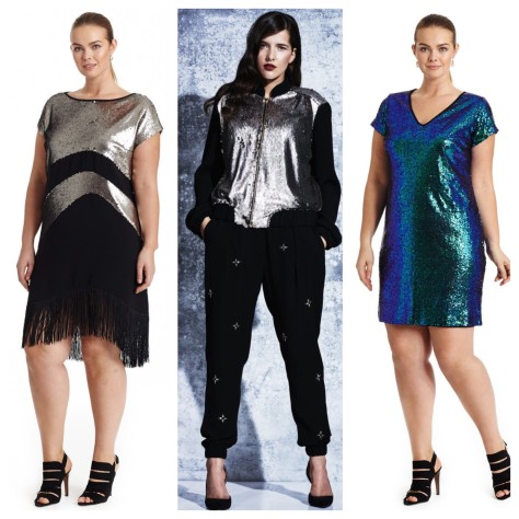 The Ultimate 2015 Plus Size Holiday Party Guide: Sequins