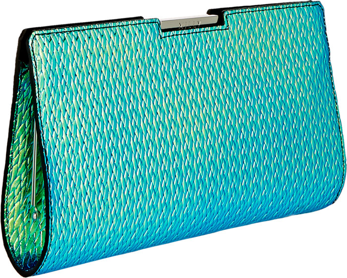 Milly Holographic Clutch