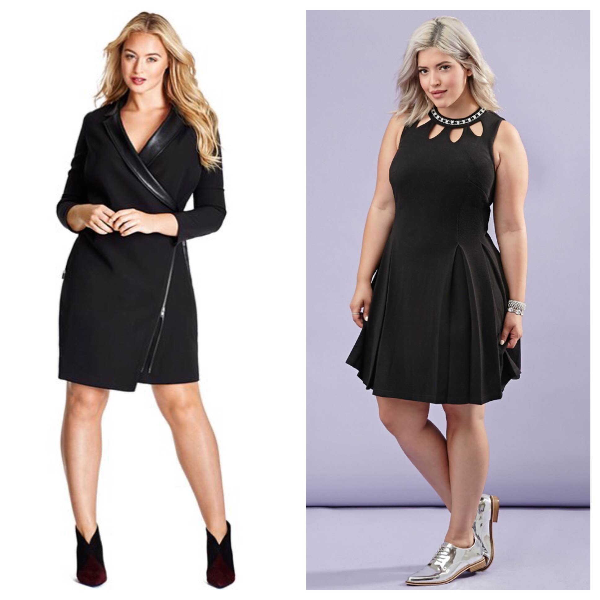 The Ultimate Plus Size Holiday Party Guide 2015: The LBD
