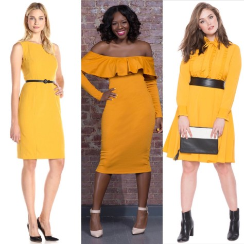 Get the Look: Michelle Obama's SOTU Narcisco Rodriguez Marigold Dress