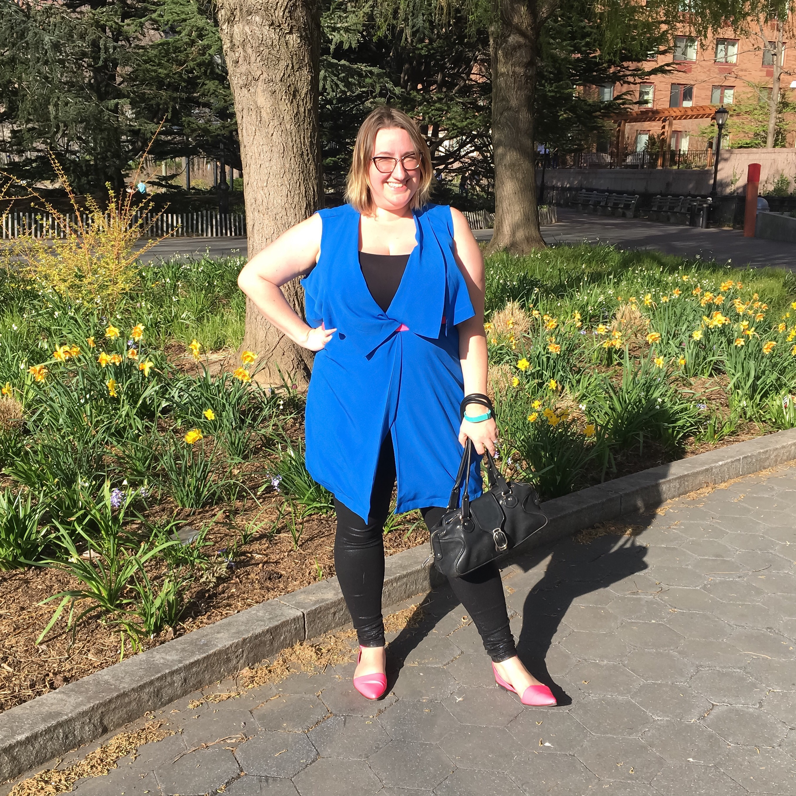 OOTD: Bright Colors and Sunlight
