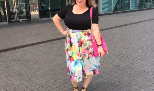 OOTD: Bold Floral