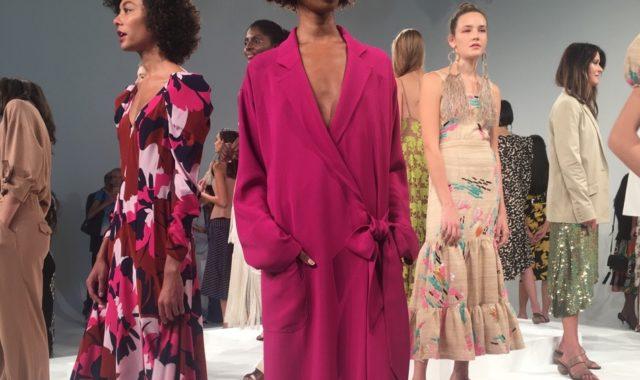 NYFW Spring/Summer 2018 Trends: Fuchsia