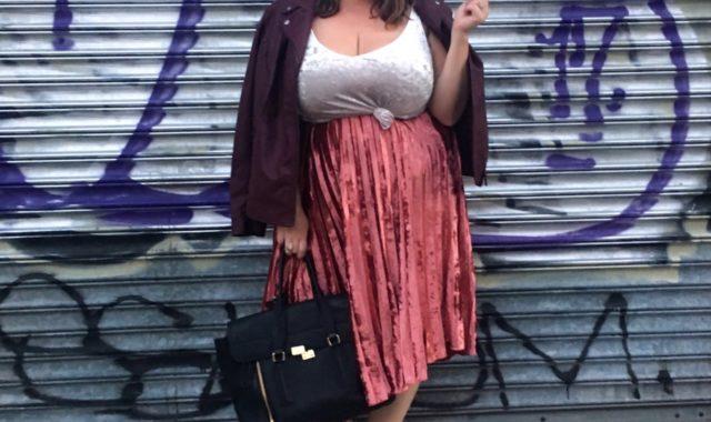 NYFW Day 5 OOTD: Velvet Crush
