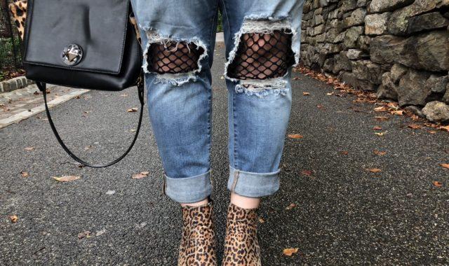 Surprise Staple: Leopard Chelsea Boots
