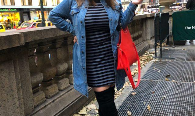 Of a Stripe: Late Fall Dressing