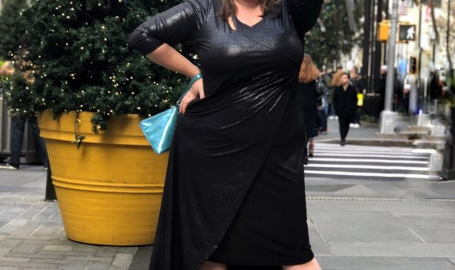 A Twist on the Holiday LBD