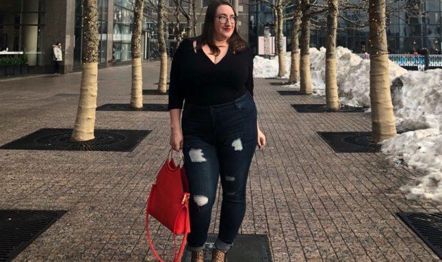 Quick Outfit Idea: Bodysuit + Jeans + Ankle Boots