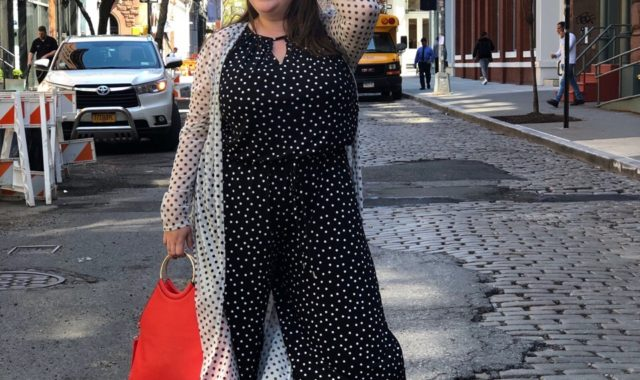 Spot On: Layering the Polka Dot Trend